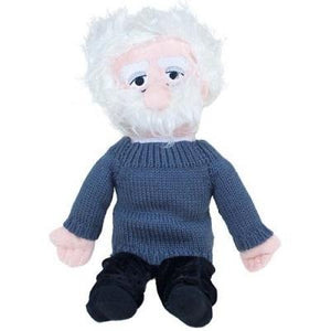 Plush Albert Einstein stuffed toy