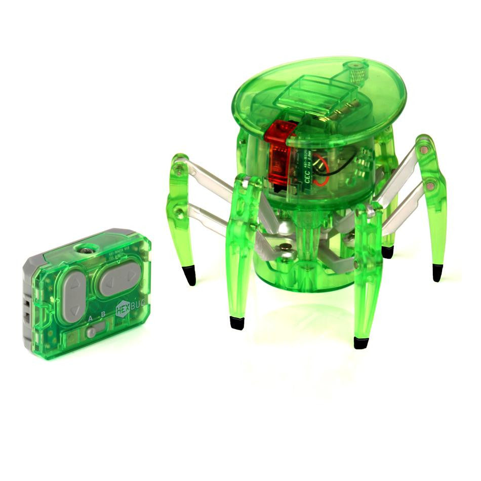 Robotic spider toy and remote control