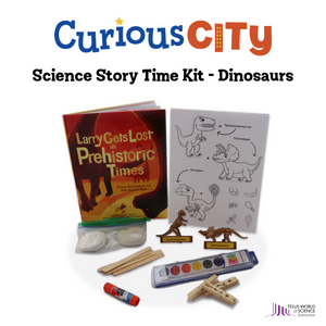 CuriousCITY's Science Story Time Kit: Dinos