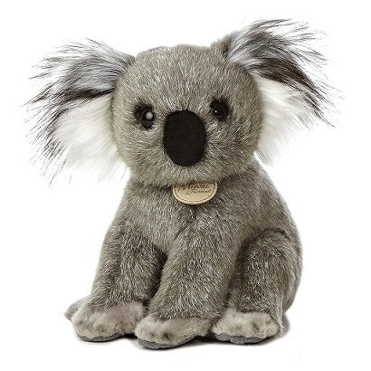 Grey koala stuffed toy