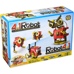 Load image into Gallery viewer, Educational science activity kit with a build your own 4 in 1 motorized robot activity