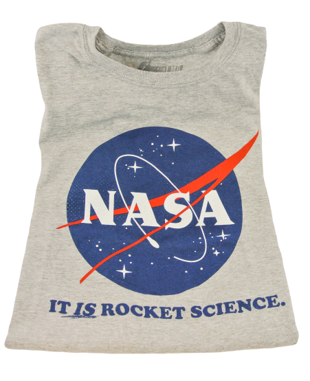 NASA Rocket Science Adult T-shirt