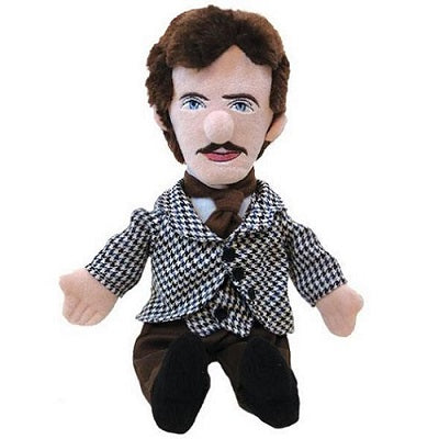 Plush Nikola Tesla stuffed toy