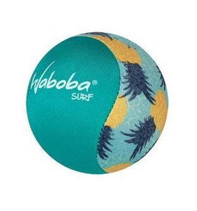 High performance fabric Waboba surf bouncing ball with blue and yellow pineapple pattern