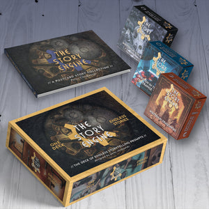 The Story Engine Anthology + Deck + Expansions Bundle SIGNED - Nat 21 Workshop