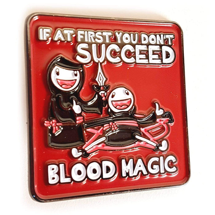 Blood Magic Pin - Nat 21 Workshop