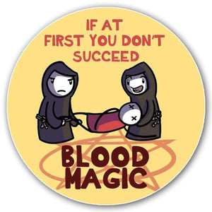 Blood Magic Sticker - Nat 21 Workshop