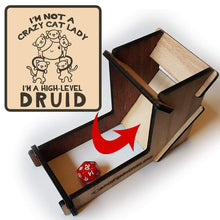 Load image into Gallery viewer, Cat Lady Druid Dice Tower - Nat 21 Workshop