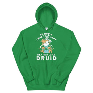 Cat Lady Druid Hoodie - Nat 21 Workshop