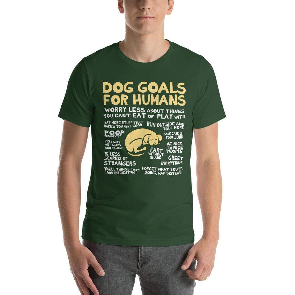 Dog Goals T-Shirt - Nat 21 Workshop