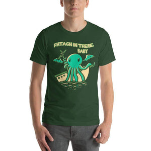 Fhtagn in There Baby Cthulhu T-Shirt - Nat 21 Workshop