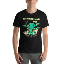 Load image into Gallery viewer, Fhtagn in There Baby Cthulhu T-Shirt - Nat 21 Workshop