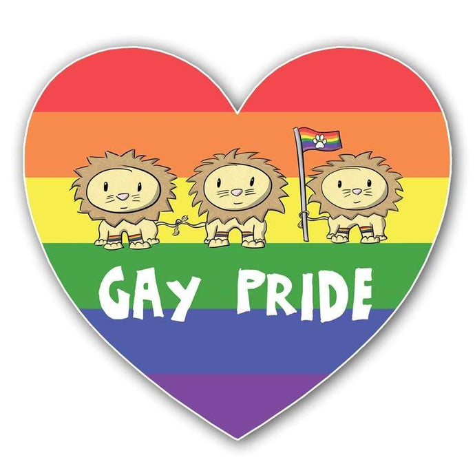 Gay Pride Sticker - Nat 21 Workshop