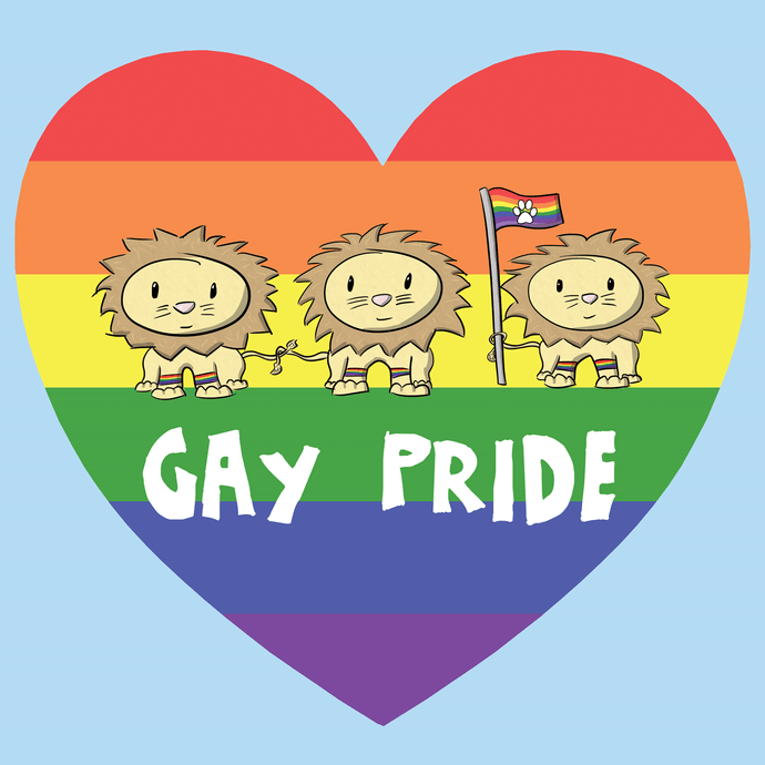 Gay Pride T-Shirt - Nat 21 Workshop