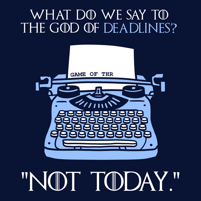 God of Deadlines T-Shirt - Nat 21 Workshop