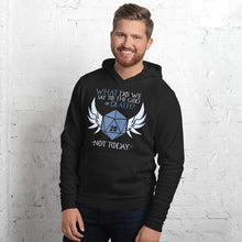 Load image into Gallery viewer, God of Death/Not Today Hoodie - Nat 21 Workshop