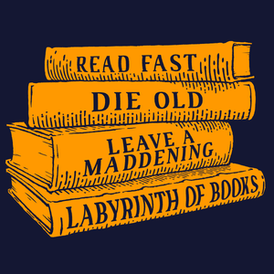 Read Fast, Die Old T-Shirt - Nat 21 Workshop
