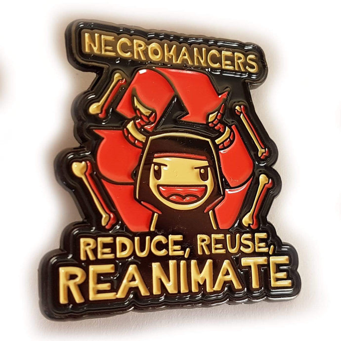 Reduce Reuse Reanimate Pin - Nat 21 Workshop