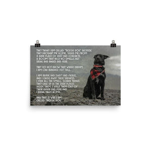 """Rescue Dog"" Story Print - Nat 21 Workshop"