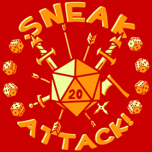 Load image into Gallery viewer, Sneak Attack! T-Shirt - Nat 21 Workshop