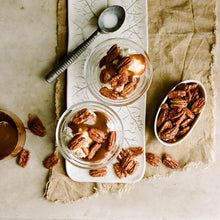 Load image into Gallery viewer, Deluxe Jar of Candied Pecans
