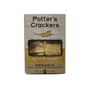 Winter Wheat Crackers