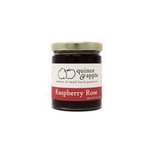 Load image into Gallery viewer, Raspberry Rose - gourmet raspberry jam infused with a hint of rose