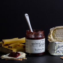 Load image into Gallery viewer, Pair our Raspberry Rose raspberry jam with soft creamy cheeses, nutty Gruyere or sweet blues.