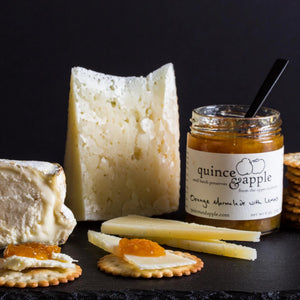 Our Orange Marmalade with Lemons pairs with aged Italian cheeses as well as fresh soft cheeses.