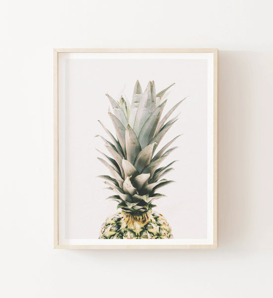 Beach Photography No. 10 - Pineapple