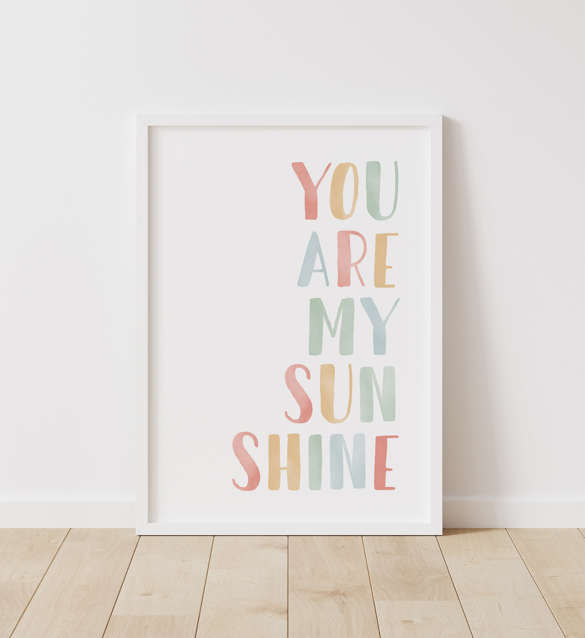 You Are My Sunshine - Rainbow