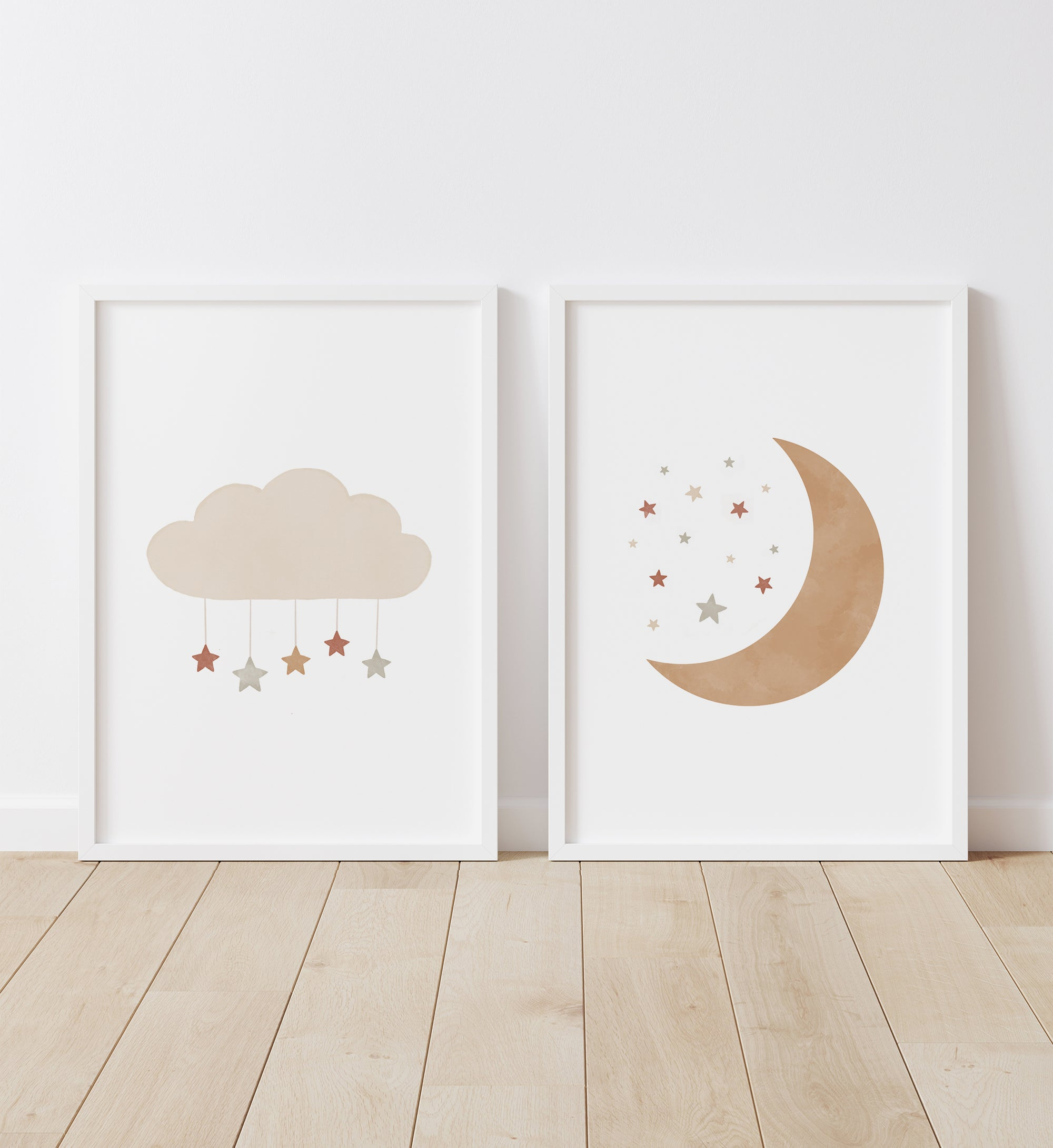 Cloud and Moon - Terracotta