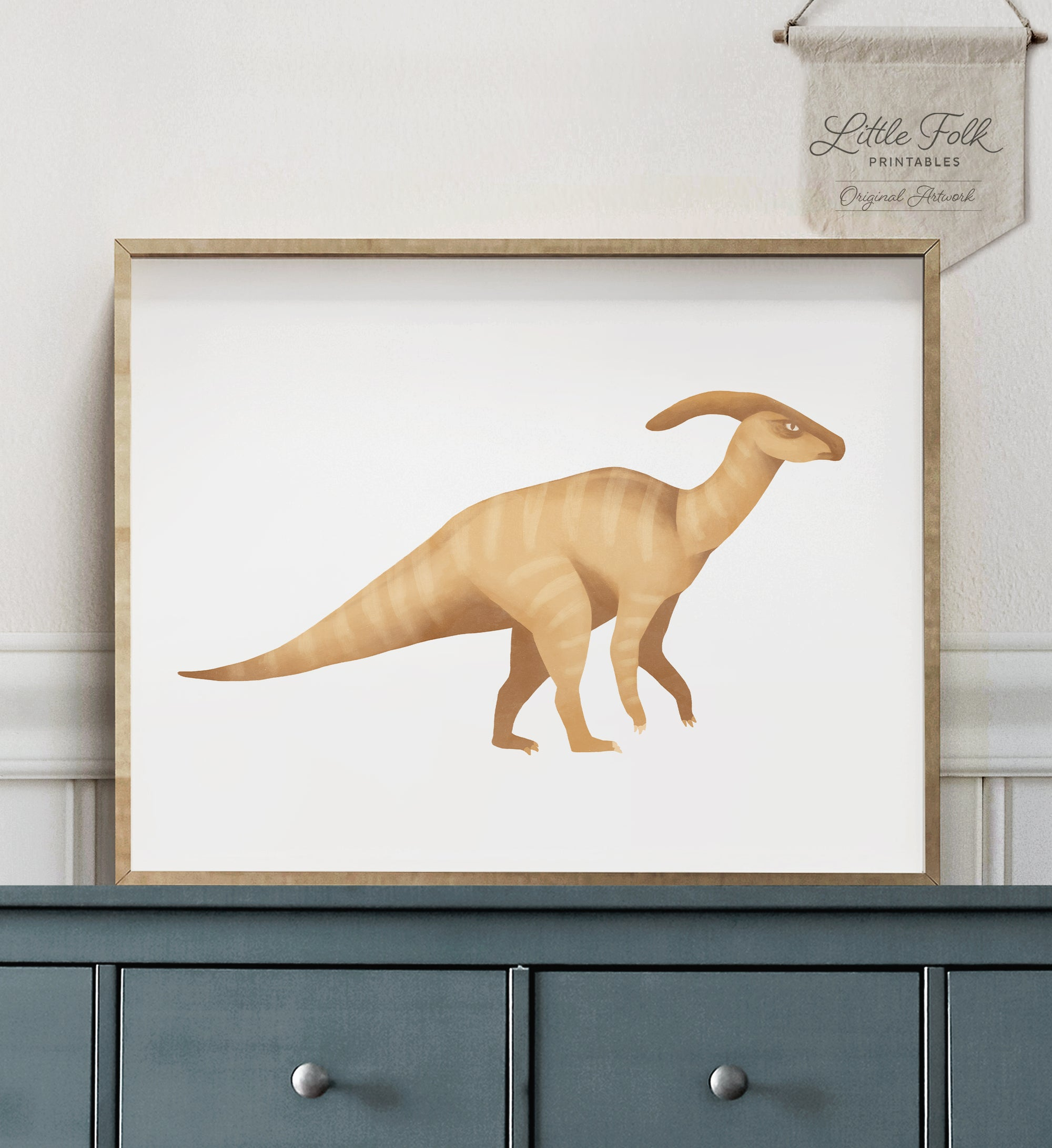 Parasaurolophus - Yellow