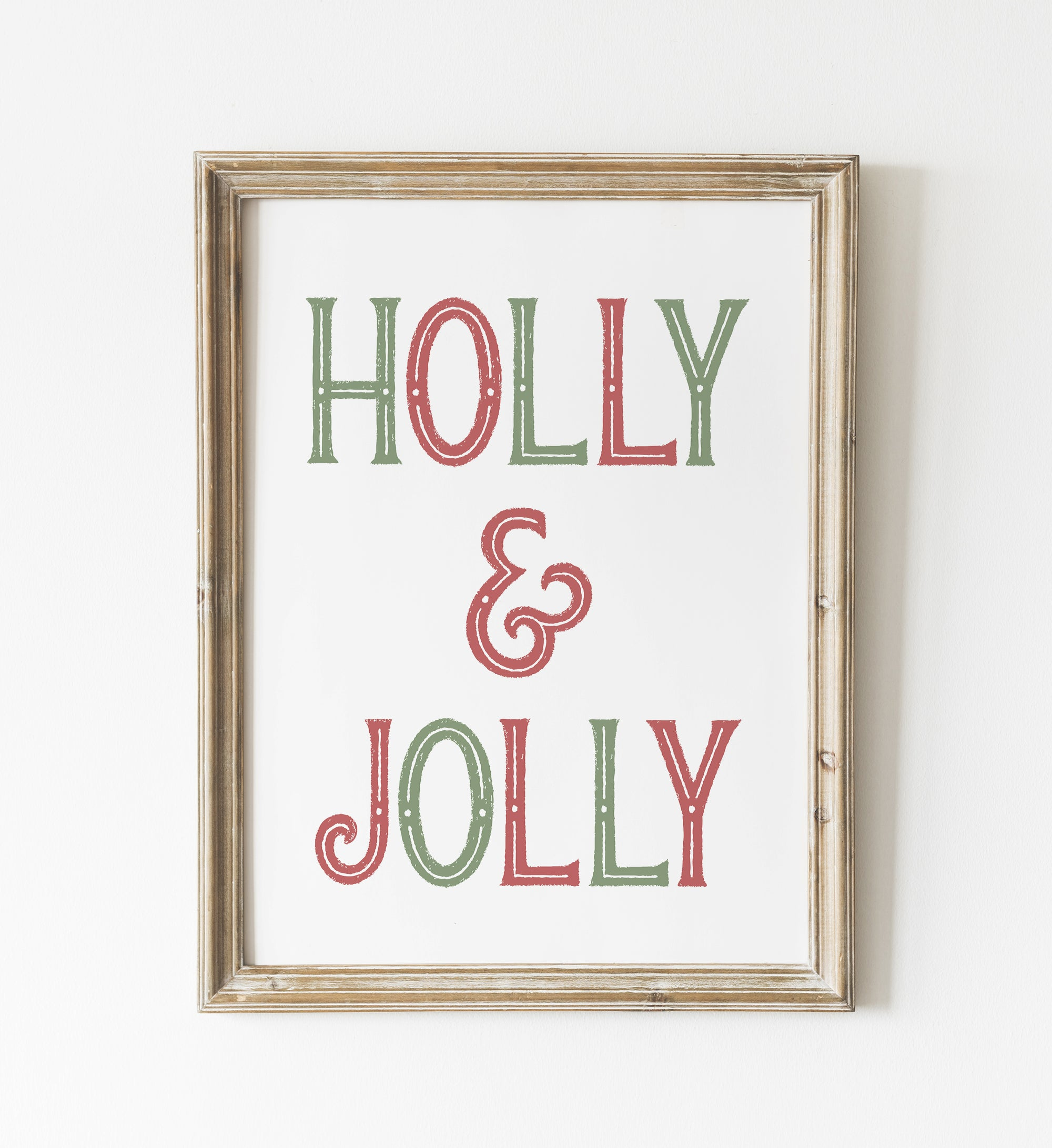 Holly & Jolly Print