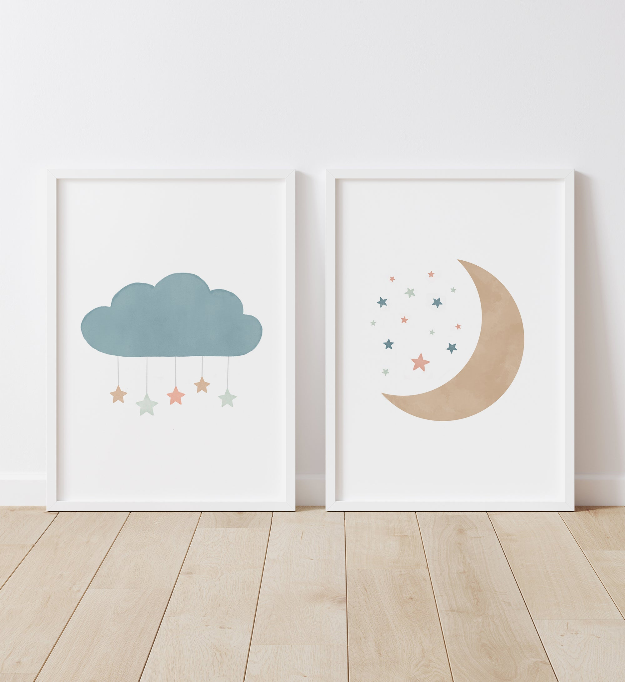 Cloud and Moon - Muted