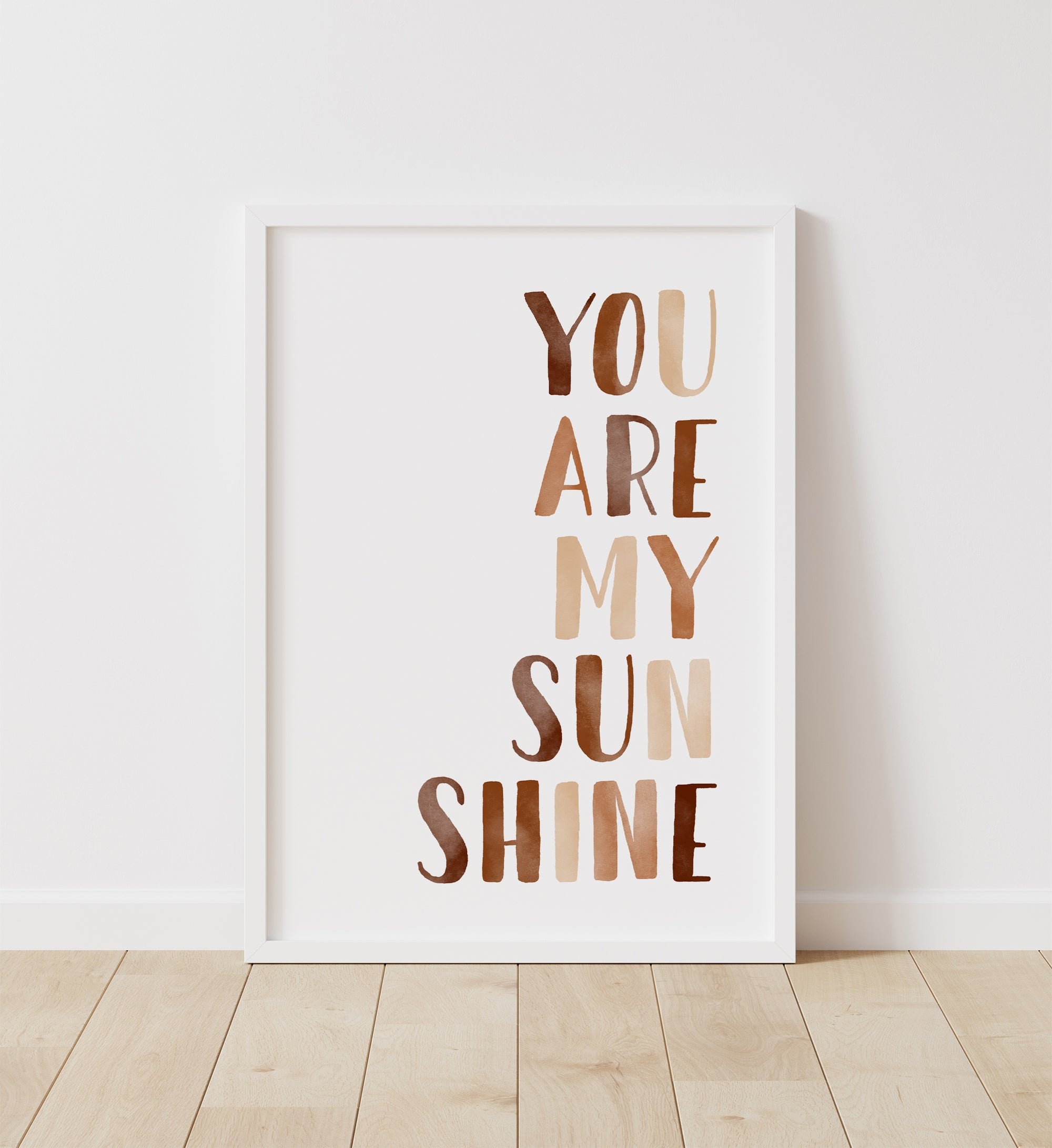 You Are My Sunshine - Burnt Orange