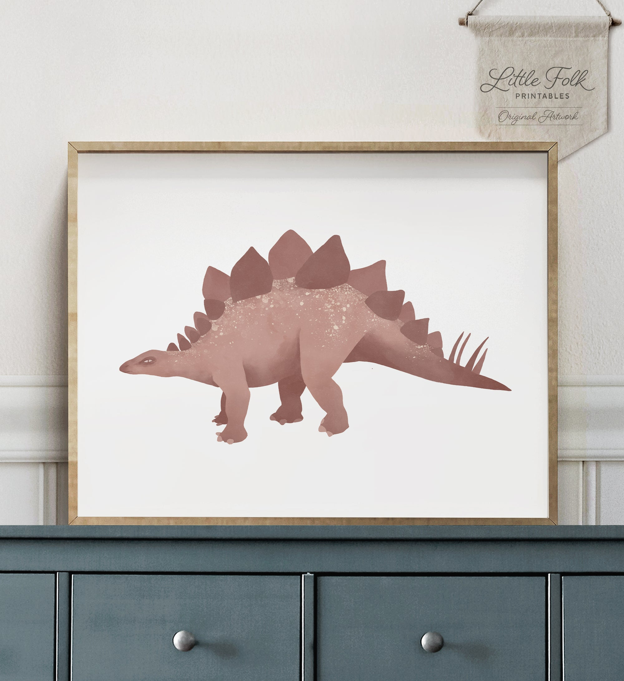 Stegosaurus - Red