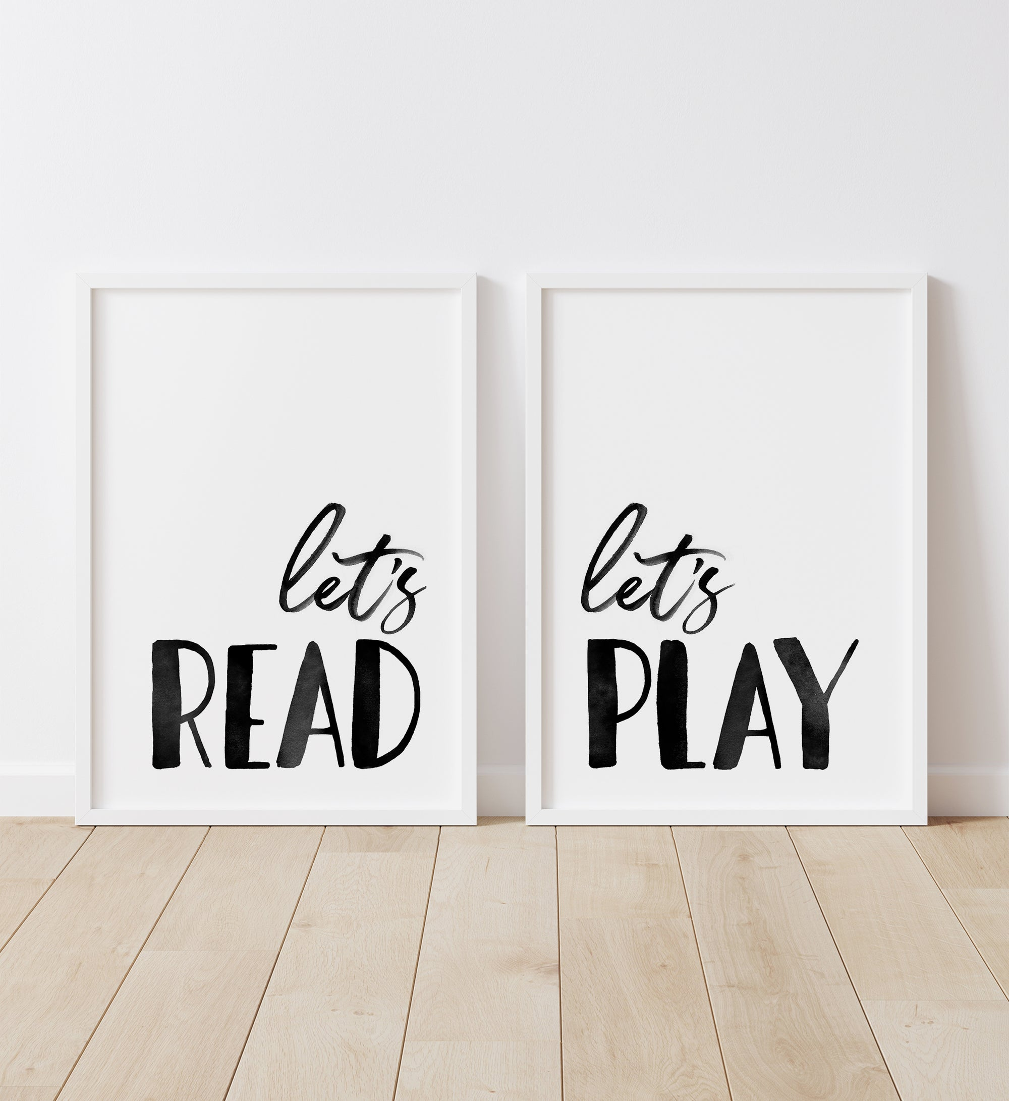 Let's Read, Let's Play - Black