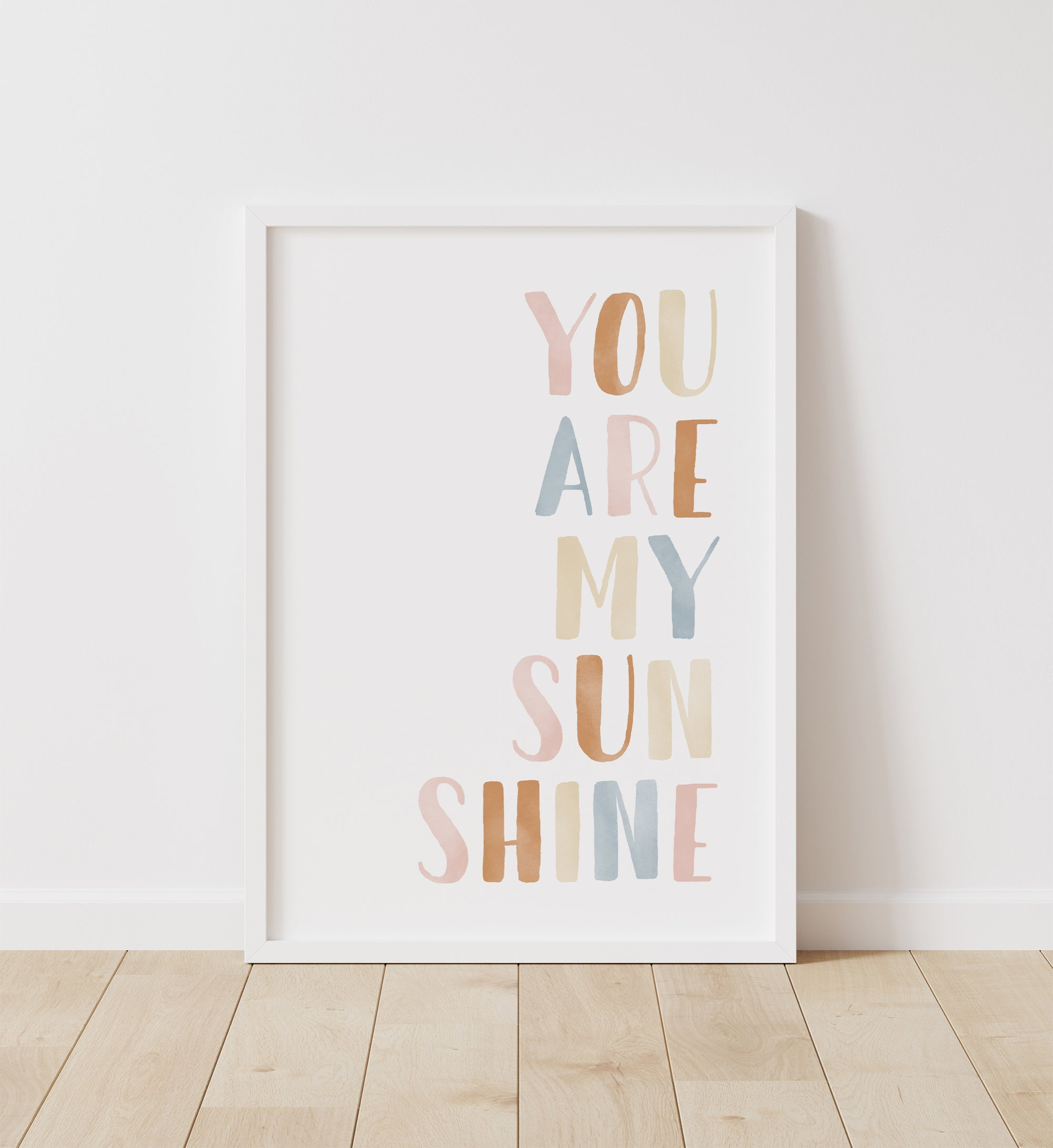 You Are My Sunshine - Boho
