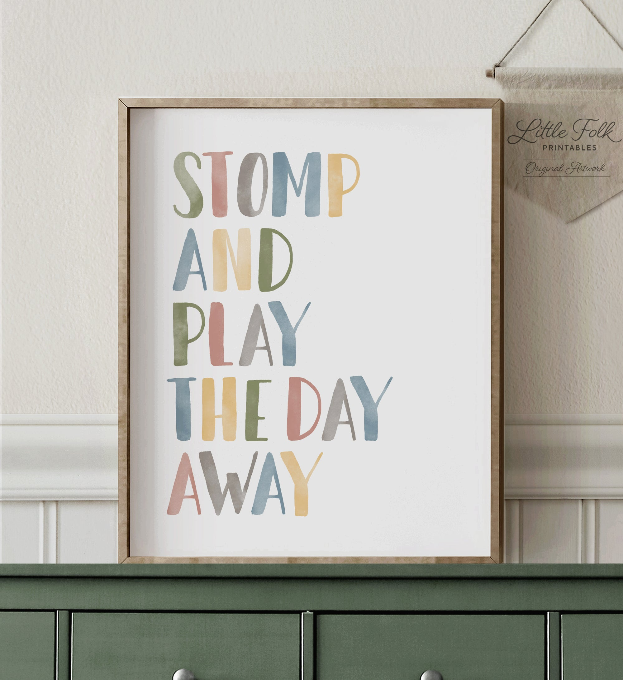 Stomp and Play the Day Away