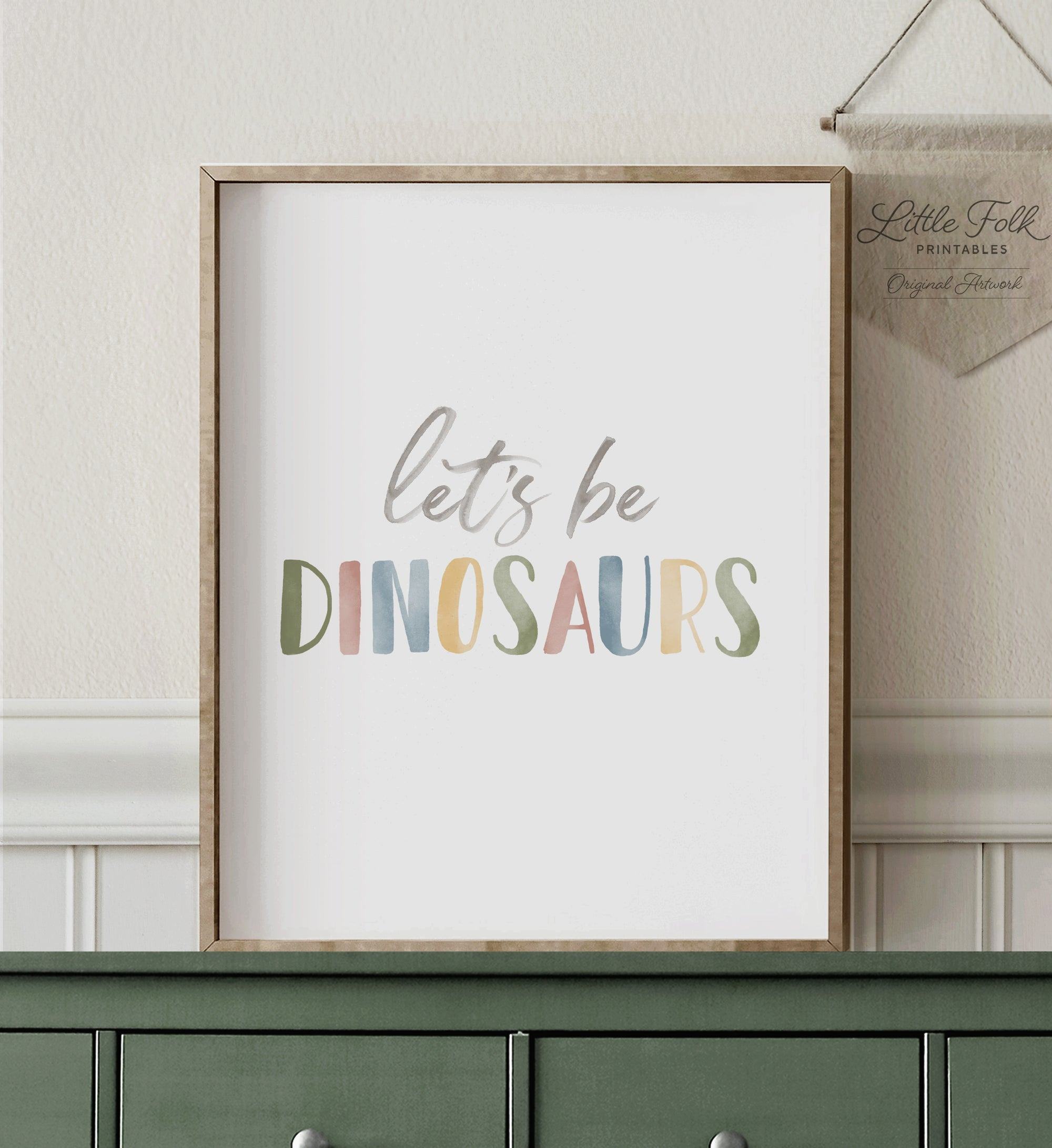 Let's Be Dinosaurs