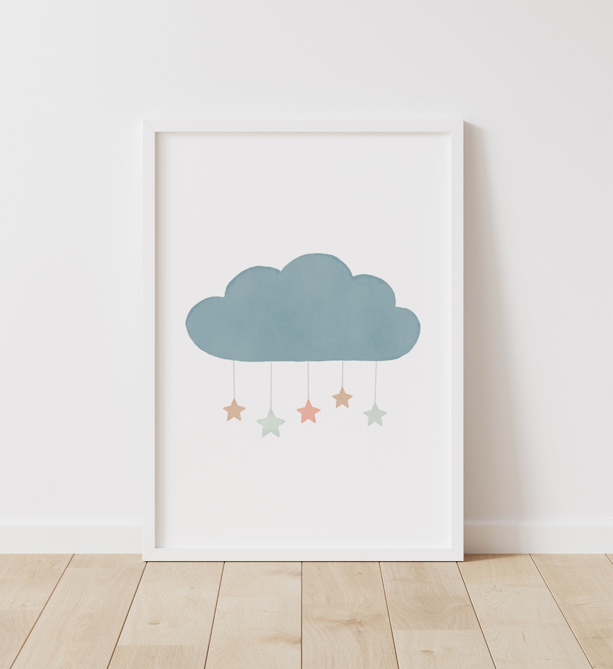 Cloud with Stars - Muted