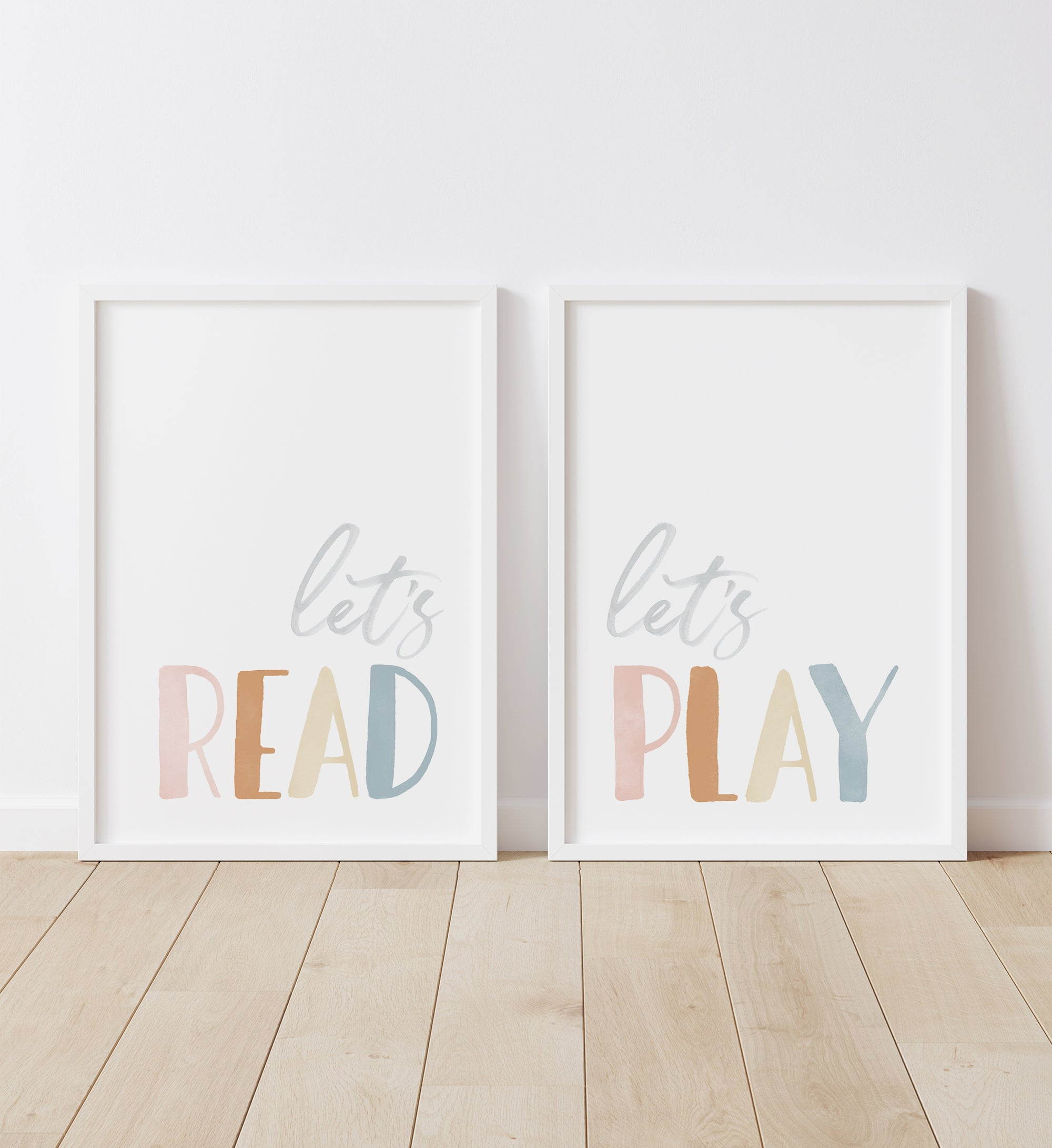 Let's Read, Let's Play - Boho