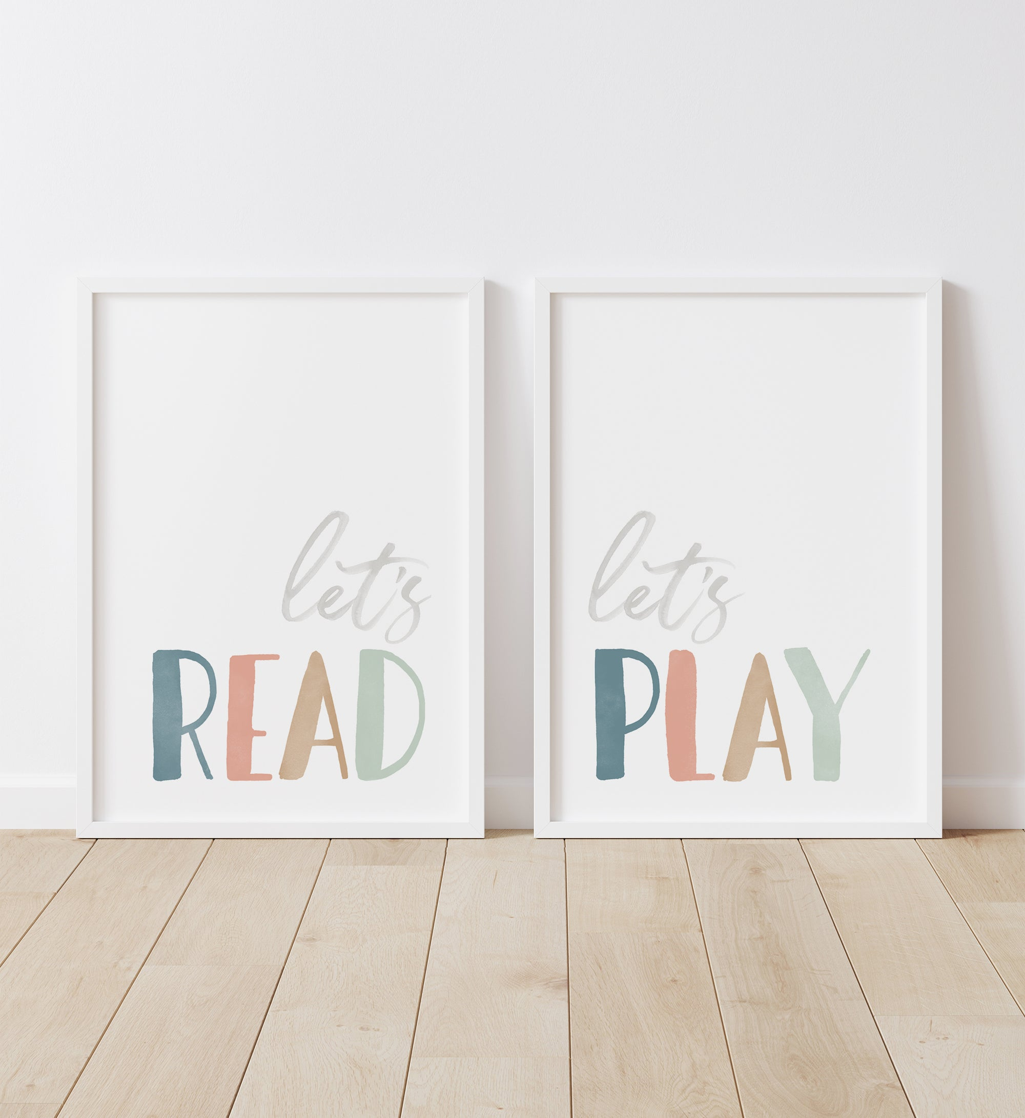 Let's Read, Let's Play - Muted