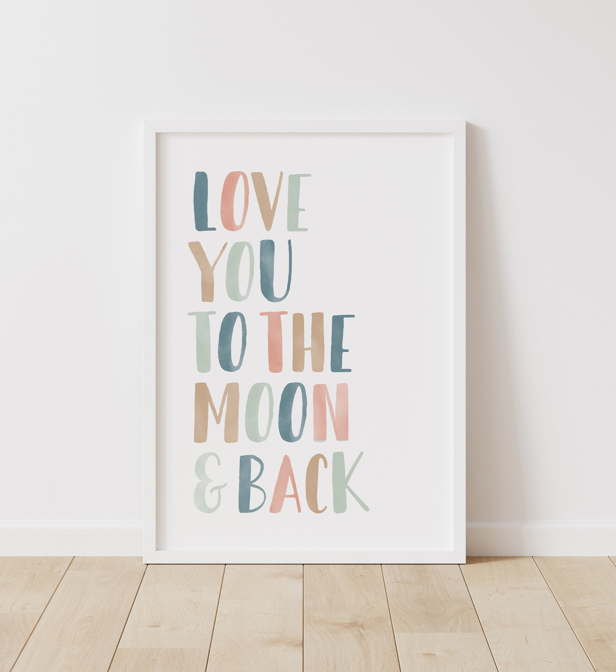 Love You to the Moon and Back - Muted