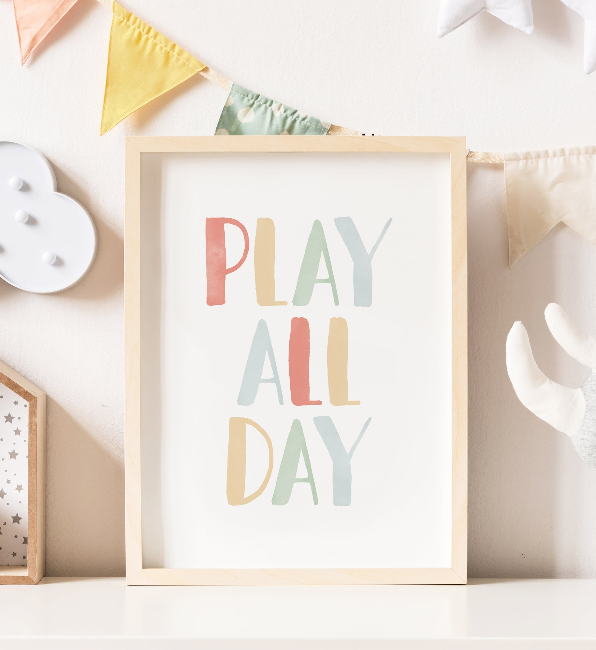 Play All Day - Simple Rainbow