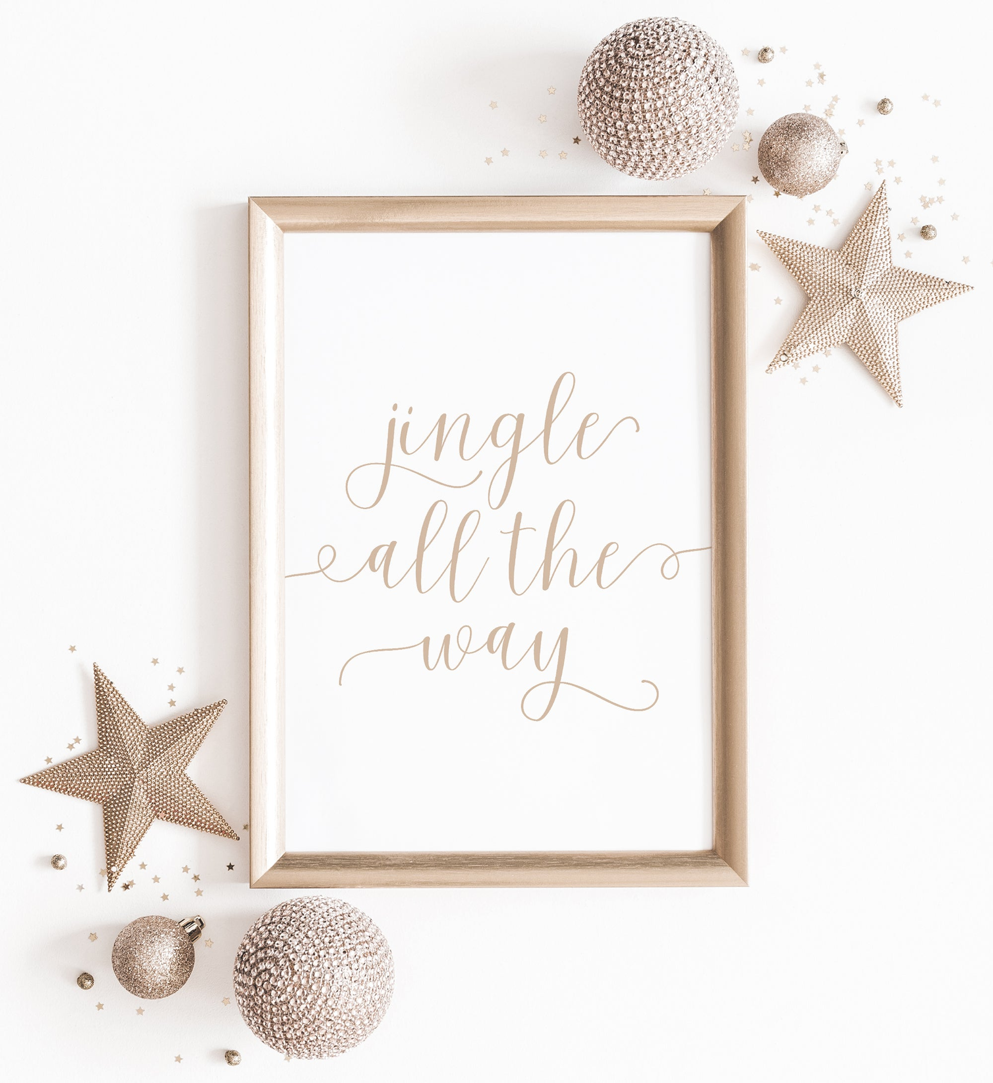 Jingle all the Way Print