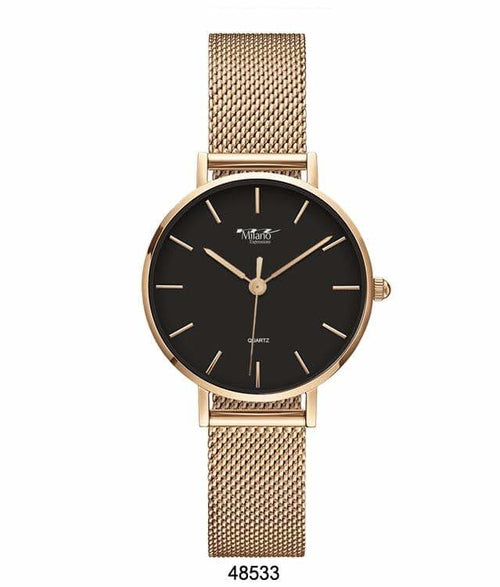 Milano Expressions Mesh Band Watch