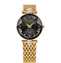 Load image into Gallery viewer, Facet Strass Swiss Ladies Watch J5.630.M