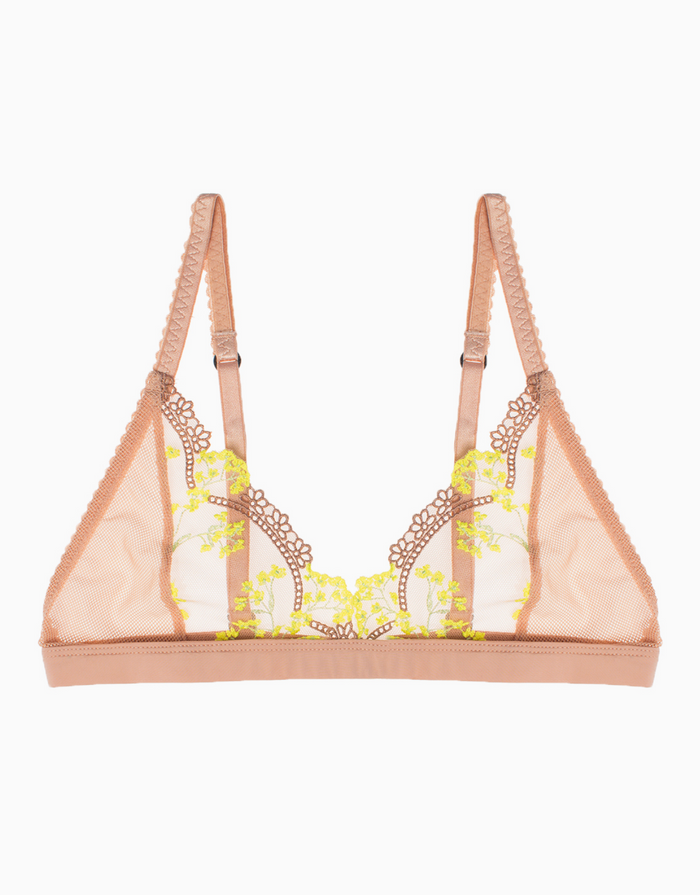 Lonely Label Scout Soft Cup Bra - Yellow Daisy